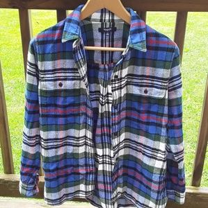 GUC Madewell flannel button down